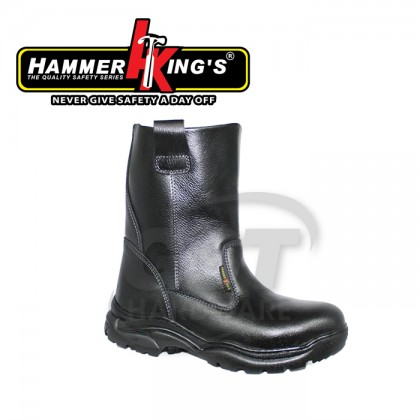 HAMMER KING'S 13022 SAFETY SHOE(BLACK)