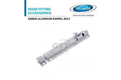 St Guchi ABB800 Aluminium Barrel Bolt | St Guchi Lock | St Guchi Barrel | St Guchi Bolt