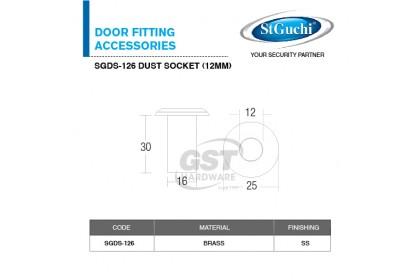 St Guchi Dust Socket SGDS-126 (12mm) | Door Dust | Dust Socket